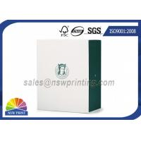 Wholesale Apparel / Shoes Packaging Rigid Paper Gift Box Drawer Shaped Custom Logo Printing from china suppliers