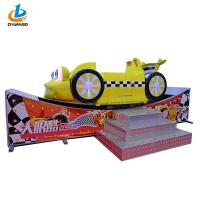 Buy cheap Theme Park Spinning Arcade Kiddie Rides  / Wig Wag Machine Big Cool Eyes Flying Car from wholesalers