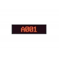 Queue Management System LED Counter Display