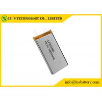 Wholesale 3.7v 1900mah Rechargeable Lithium Polymer Battery LP803466 lithium ion battery 3.7v rechargeable cell from china suppliers