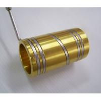 China Hot Runner Injection Molding Brass Electric Tube Heaters With Thermocouple on sale