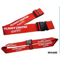 China Any Color Personalised Suitcase Straps , Travel Bag Straps With Plastic Buckle on sale