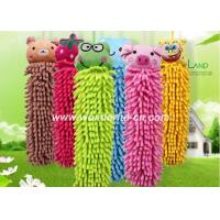 Buy cheap Chenille fast drying hanging microfiber hand towels wholesale from wholesalers