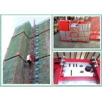 Wholesale Twin Cages Construction Hoist Elevator , Buck Construction Material Lifting Hoist from china suppliers