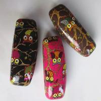 China Hot selling printed glasses cases-Owl design printed wholesale