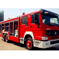 Wholesale Red And White Firefighter Rescue Fire Truck SINOTRUK HOWO 6x4 12m3 Fire Rescue Vehicles from china suppliers