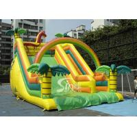 Wholesale Outdoor Giant Tropical Rain Forest Inflatable Slide For Adults And Kids from china suppliers