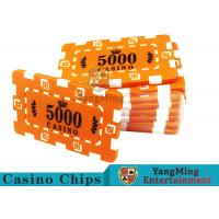 Wholesale Custom Design Cheap Casino Poker Chips , ABS Plastic Numbered Poker Chips from china suppliers