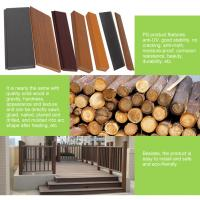 PS plastic outdoor decking material for flooring,bench,chair similar with WPC