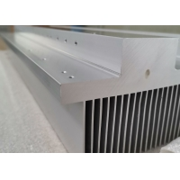 Wholesale 204mm Width Off Grid Inverter Aluminium Heatsink Extrusion With Anodized from china suppliers