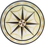 Granite&Marble Mosaic&Medallion