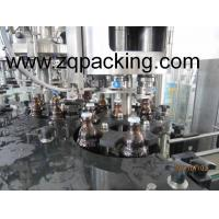 Wholesale Zhangjiagang Longway 8000b/h gas glass bottle Beer / liquor washing filling capping Line from china suppliers