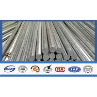 Wholesale Silver Galvanized Steel Electrical Power Pole For Transmission Galvanized Line from china suppliers
