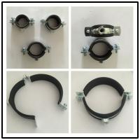 Wholesale Ceiling / Wall Mounted  Pipe Hanger Clamp With Rubber , Dmm 59mm-63mm from china suppliers
