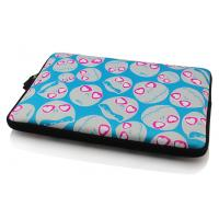 Wholesale Neoprene laptop cover with double nylon zipper closure from china suppliers