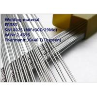Wholesale ER383 GTAW Welding Rod Special Alloys Welding Material Nickel Based Alloy ER383 / SNi 8025 from china suppliers