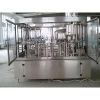Wholesale whisky wine filling machine with glass bottle 3-in-1, alcohol drinks from china suppliers
