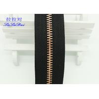 Wholesale Custom Normal Teeth Long Chain Zipper In Roll Black Polyester Tape For Pants from china suppliers