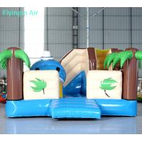 Wholesale Customized Summer Beach inflatable Coconut Tree Bouncy Castle for Sale from china suppliers