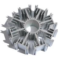 Wholesale Customized Round Aluminum Heat Sink Extrusion AL6063 T5 Profile Radiator from china suppliers