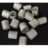 Wholesale Metal Laboratory Random Packing Wire Mesh Dixon Ring 6*6mm For Distillation Column from china suppliers