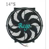 China Automobile Car Universal Radiator Cooling Fan High Performance Straight Blade on sale
