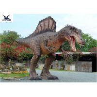 Wholesale Attractive Animatronic Jurassic Dinosaur Garden Statue Mouth Movement With Sounds from china suppliers