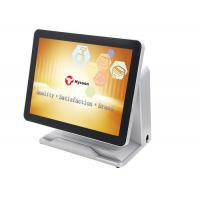 """5 Wire 15"""" Touch Screen Pos System HM65 With Dual - Core Double Thread Processor"""