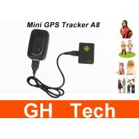 Buy cheap Mini A8 Car GPS Tracker Global Real Time 4 Bands GSM/GPRS Security Auto Tracking from wholesalers