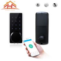 Wholesale Mobile Phone Control Full Smart Home System Password Based Door Lock System from china suppliers
