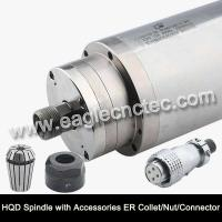 Wholesale Water Cooled Spindle Motor HQD 2.2kw 3.2kw 4.5kw 5.5kw for CNC Router from china suppliers