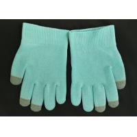 Wholesale Blue Colour SPA Cotton Cosmetic Gloves Highly Effective Softening Hands from china suppliers