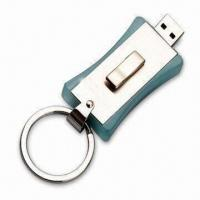 Wholesale Metallic USB Flash Drive with 128MB to 32GB Capacity and Protect Drive from china suppliers