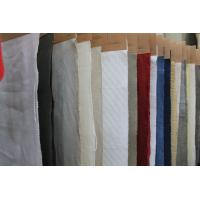 Breathable Organic Cotton And Linen Mix Fabric Washed Upholstery