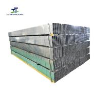 Wholesale BS 1387 Standard Pre Galvanized Rectangular Tubing 0.5 - 16mm Thickness from china suppliers
