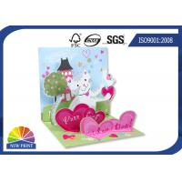 Wholesale Fancy Design 3D Pop Up Stand Display Christmas Greeting Card / Wedding Cards from china suppliers