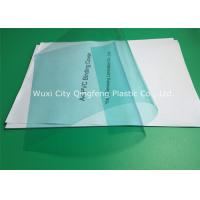 Quality 0.14mm/140 Micron Green PVC Binding Covers 210×297 MM For Books / Documents for sale
