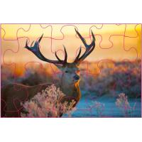 Wholesale Promotion 3D Lenticular Printing Jigsaw Puzzles/ Custom 3D Lenticular PET Puzzles from china suppliers