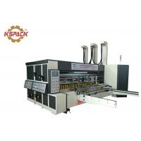Wholesale Pizza Box Rotary Die Cutter Two Color Printing Machine For Corrugated Carton Industry from china suppliers