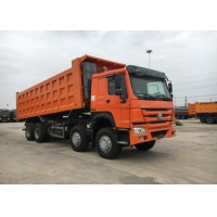 Buy cheap High Loading Capacity 12 Wheeler Dump Truck With Safety Hydraulic Control System from wholesalers