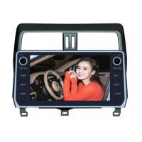 Quality Toyota Prado 2018 Android Car DVD Player 10.1 Inch GPS Android Version 8.0x for sale