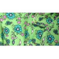 Wholesale Natural Dyeing 100% Rayon Digital Printed Knit Fabric , Viscose Crepe Fabric from china suppliers
