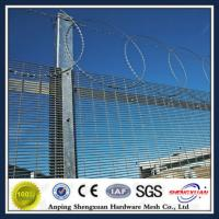 Wholesale powder coated super 6 fencing / securifor 358 / 358 fence from china suppliers
