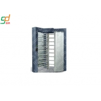 Wholesale Stainless Steel Full Height Turnstile Automatic Security Tri-Channnel Turnstile Gate from china suppliers