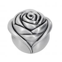 Wholesale Luxyry Zinc Alloy Rose Ring box by nickel plating Co Velvet Lower for wedding gifts from china suppliers