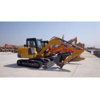 Wholesale XE60D Light Duty Excavator , Hydraulic Crawler Excavator With 6T Operate Weight from china suppliers