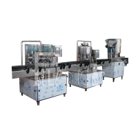 Wholesale SUS304 Drinking Water 500ml Monoblock Liquid Water Filling Machine from china suppliers