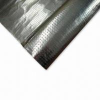Wholesale Perforated-radiant Barrier, Made of Aluminum Foil Coated Woven Fabric, Used for Roof/Wall Insulation from china suppliers