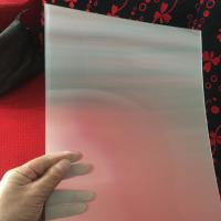 Wholesale 75LPI 51cmx71cm PET lenticular lens sheet for injekt print and uv print with good Lenticular Printing Effect from china suppliers