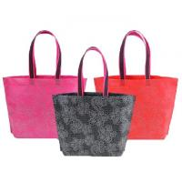 Wholesale Logo Printing Folding Pp Non Woven Fabric Bags Reusable Shopping Customized Size from china suppliers